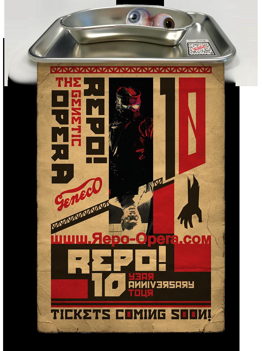 REPO! 10 Year Event